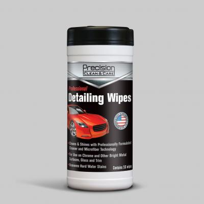Precision Clean & Care Detailing Wipes